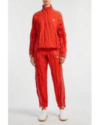 Alexander Wang - Crinkled-jersey Track Pants - Lyst