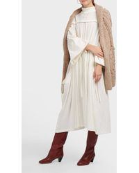 AF AGGER | Cotton-gauze Dress | Lyst