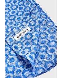 Frescobol Carioca - Ipanema Linen Towel, Size Os, Men, Blue - Lyst
