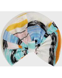 Missoni - Wave Print Turban, Size Os, Women - Lyst