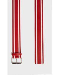 Monse - Racing Stripe Belt, Size Xs/s, Women, Red - Lyst