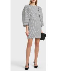 Martin Grant - Striped Cotton-blend Dress - Lyst