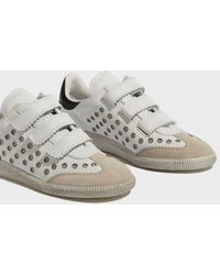 Isabel Marant - Beth Leather Trainers - Lyst