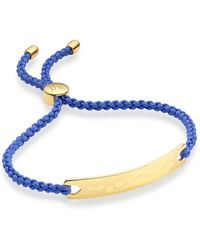 Monica Vinader - Havana Friendship Bracelet, Size Os, Women, Metallic - Lyst