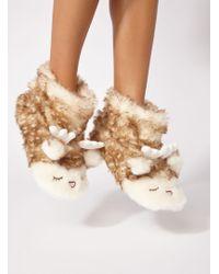 Boux Avenue - Reindeer Booties - Lyst