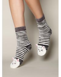 Boux Avenue - Cat Socks - Lyst