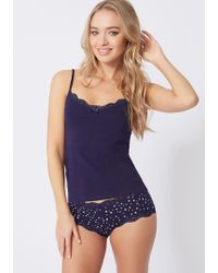 Boux Avenue - Star Cami And Knicker Set - Lyst