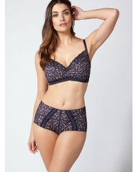 b876ba85a9ad28 Frank And Oak · Boux Avenue - Alice Non-wired Full Support Bra - Lyst