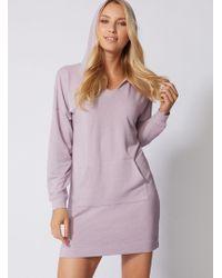 Boux Avenue - Leisurewear Longline Hoody - Lyst