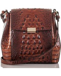 Brahmin - Melbourne Margo Embossed Leather Crossbody - Lyst