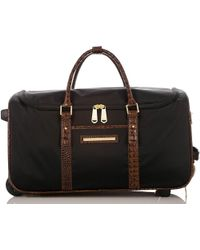Brahmin - Carryon Wheeled Duffle Black Travel - Lyst