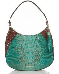 Brahmin - Paraty Collection Amira Hobo Colorblock Bag - Lyst