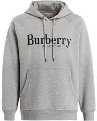 Burberry - Hoodie CLARKE - Lyst