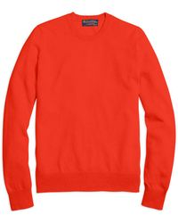 Brooks Brothers - Cashmere Crewneck Sweater - Lyst