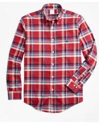 Brooks Brothers - Non-iron Milano Fit Multi-plaid Sport Shirt - Lyst