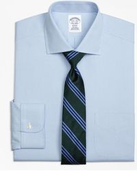 Brooks Brothers - Non-iron Milano Fit Houndstooth Dress Shirt - Lyst
