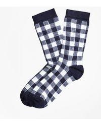 Brooks Brothers - Gingham Socks - Lyst
