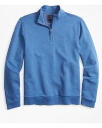 Brooks Brothers - French Terry Half-zip - Lyst