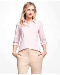 Brooks Brothers - Non-iron Fitted Dress Shirt - Lyst