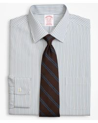 Brooks Brothers - Madison Classic-fit Dress Shirt, Non-iron Framed Stripe - Lyst
