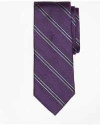 Brooks Brothers | Herringbone Framed Stripe Tie | Lyst