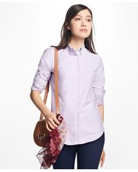 Brooks Brothers   Classic-fit Supima® Cotton Oxford Button-down Shirt   Lyst