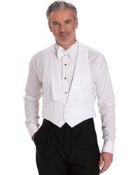 Brooks Brothers - White Cotton Pique Tuxedo Vest - Lyst