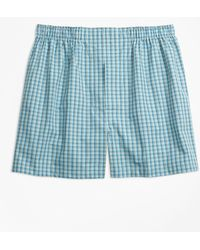 Brooks Brothers - Traditional Fit Mini Multi-check Boxers - Lyst