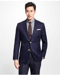 Brooks Brothers - Regent Fit Doeskin Stretch Wool Blazer - Lyst