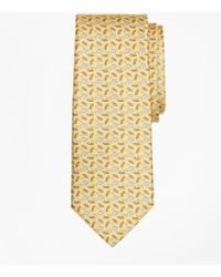 Brooks Brothers - Shark And Surf Board Print Tie - Lyst