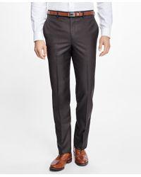 Brooks Brothers | Fitzgerald Fit Wool Dress Trousers | Lyst