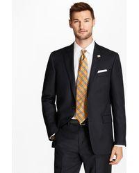 Brooks Brothers - Regent Fit Blue Herringbone 1818 Suit - Lyst