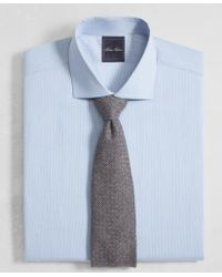 Brooks Brothers | Golden Fleece® Regent Fit English Collar End-on-end Frame Stripe Dress Shirt | Lyst