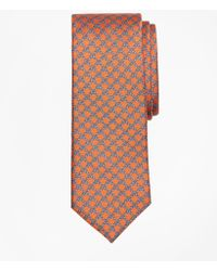 Brooks Brothers - Square Link Print Tie - Lyst