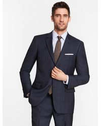 Brooks Brothers - Madison Fit Saxxontm Wool Blue Plaid 1818 Suit - Lyst