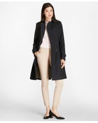 Brooks Brothers - Double-breasted Trench Coat - Lyst