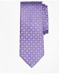 Brooks Brothers - Floral Alternating Medallion Tie - Lyst