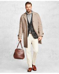 Brooks Brothers - Golden Fleece® Herringbone Topcoat - Lyst