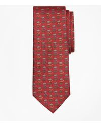Brooks Brothers - Bull And Bear Print Tie - Lyst