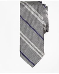 Brooks Brothers - Alternating Double Stripe Tie - Lyst