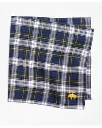 Brooks Brothers - Dress Gordon Tartan Pocket Square - Lyst