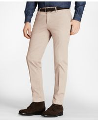 Brooks Brothers - Garment-dyed Stretch Cavalry Twill Chinos - Lyst