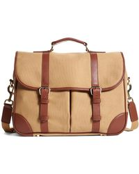 Brooks Brothers | Canvas Messenger | Lyst