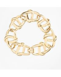 Brooks Brothers - Gold-plated Nautical Link Bracelet - Lyst
