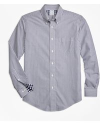Brooks Brothers - Non-iron Regent Fit Bengal Stripe Sport Shirt - Lyst