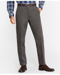 Brooks Brothers - Clark Fit Flannel Lined Chinos - Lyst