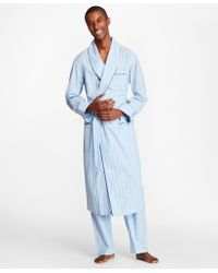 Brooks Brothers - Multi-stripe Robe - Lyst