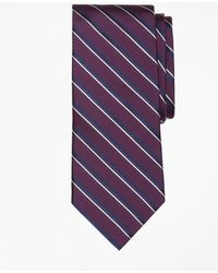 Brooks Brothers - Double Sidewheeler Stripe Tie - Lyst