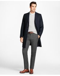 6d5849eb6 Ralph Lauren Black Label Wool Chesterfield Topcoat in Gray for Men ...