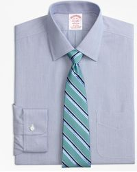 Brooks Brothers - Stretch Madison Classic-fit Dress Shirt, Non-iron Hairline Stripe - Lyst